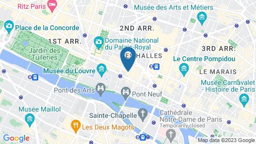 Apartments du Louvre - St-Honoré Map