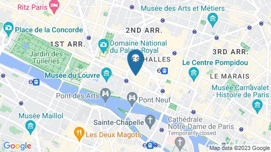 Boutique Hôtel Konfidentiel Map