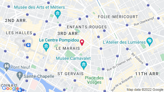 Hôtel du Petit Moulin – Small Luxury Hotels of the World Map