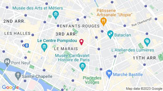 Hôtel Monsieur Saintonge Map