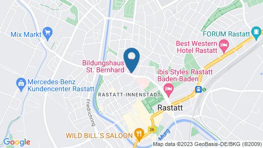 Bildungshaus St Bernhard Map