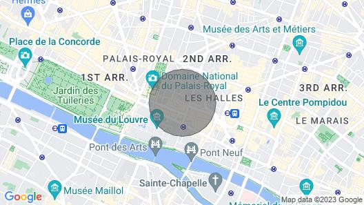 Studio Paris Centre Location Semaine Map