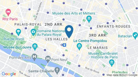 Le Relais des Halles Map