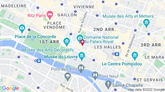Grand Hotel du Palais Royal Map