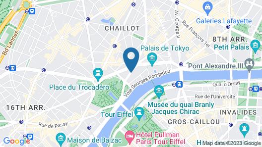 Shangri-La Paris Map