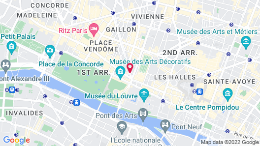 Hôtel du Louvre, in The Unbound Collection by Hyatt Map