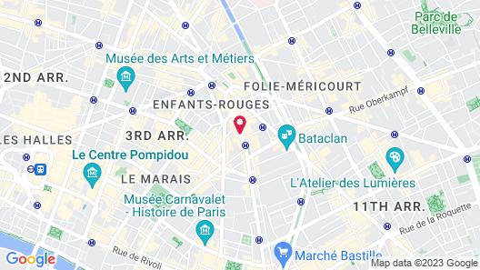 1K Paris Map
