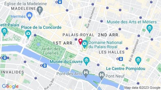 Drawing Hôtel Map