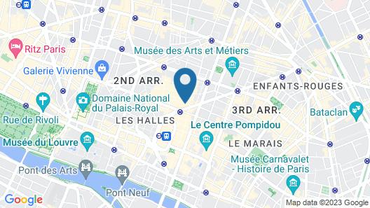 Hotel Tiquetonne Map
