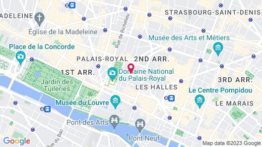 Hôtel Crayon Rouge by Elegancia Map