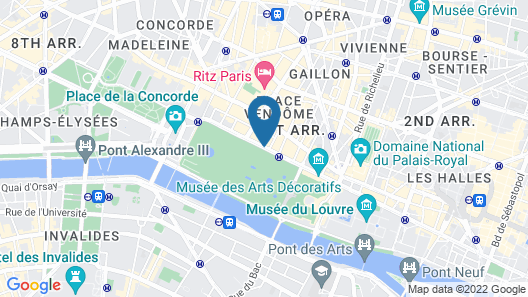 Hotel Brighton Map