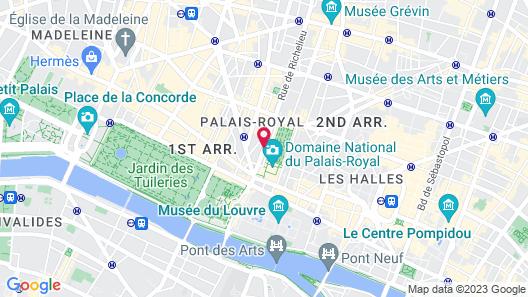 Hotel Louvre Piemont Map