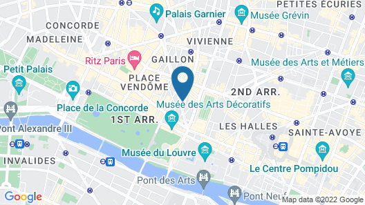 Nolinski Paris Map