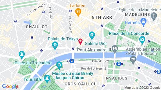 Hôtel Montaigne Map