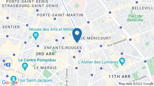 Hotel Le Mareuil Map
