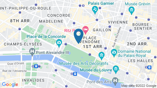 Hotel du Continent Map