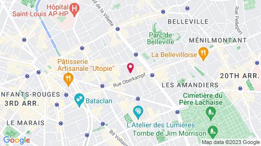 Hotel La Nouvelle République Map