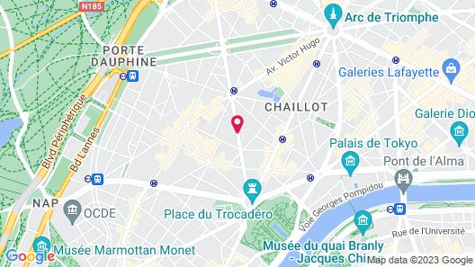 Renaissance Paris Nobel Tour Eiffel Hotel Map