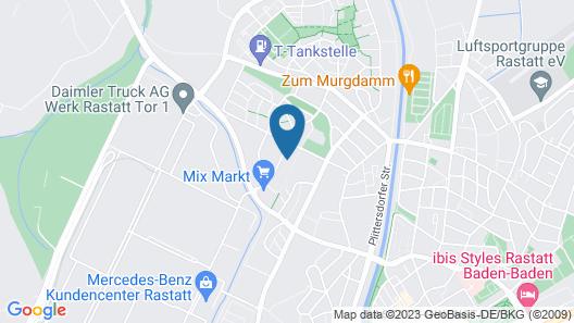 ASTRA HOTEL GARNI Map