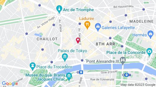 Hôtel de Sers Map