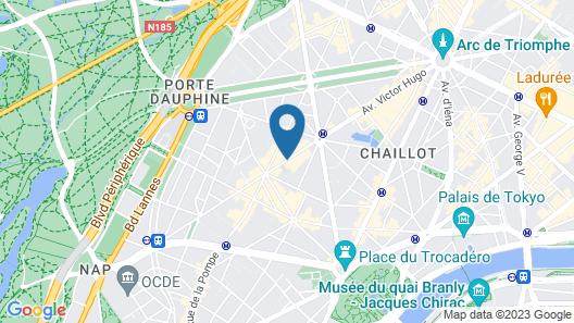 Melia Paris Champs-Elysées Map