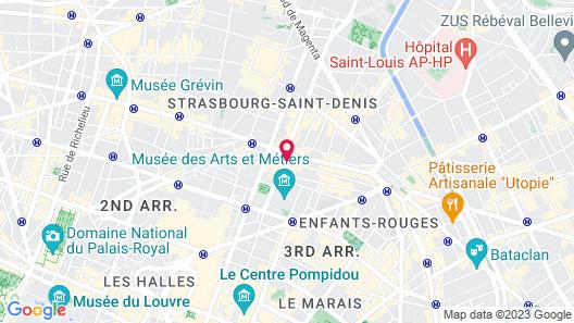 Hôtel du Plat d'Etain Map