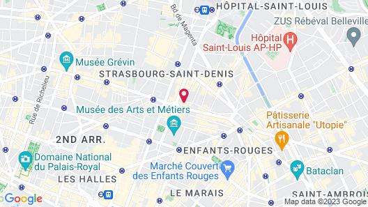 Hôtel Providence Map