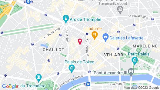 Suites et Hotel Helzear Etoile Map