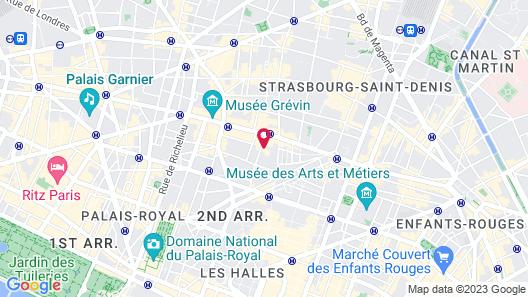 The Hoxton Paris Map