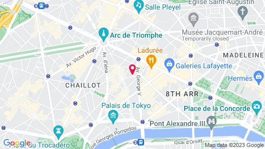 Hôtel Francois 1er Map