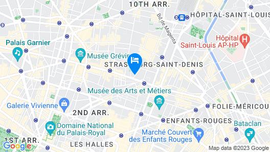 Hôtel Mazagran Map