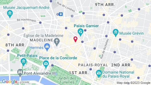 InterContinental Paris le Grand, an IHG Hotel Map