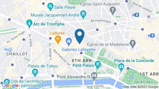 Hotel Beauchamps Map