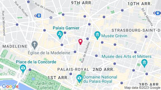 La Maison Favart Map