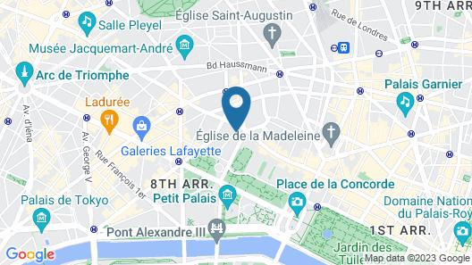Hôtel Splendide Royal Paris - Relais & Châteaux Map