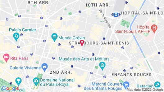 Hôtel des Comédies Map