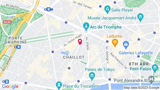 Hotel Raphael Map