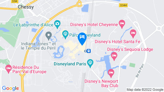 Disneyland® Hotel Map