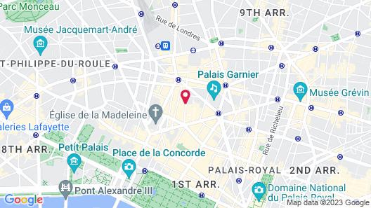 Hôtel Caumartin Opéra - Astotel Map
