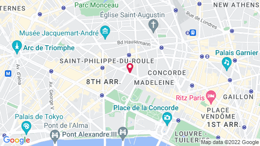 Le Bristol Paris - an Oetker Collection Hotel Map