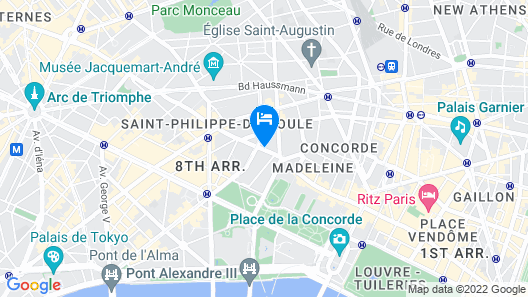 Le Bristol Paris - an Oetker Collection Hotel Map