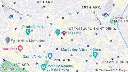 Hôtel Mondial Map