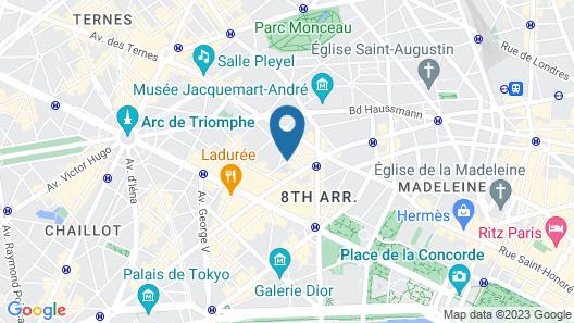 Hôtel Le Marianne Map