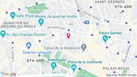 Maison Astor Paris, Curio Collection by Hilton Map