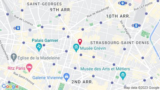 Hotel Panache Map