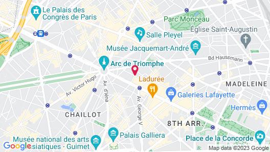 Hotel Balzac Map