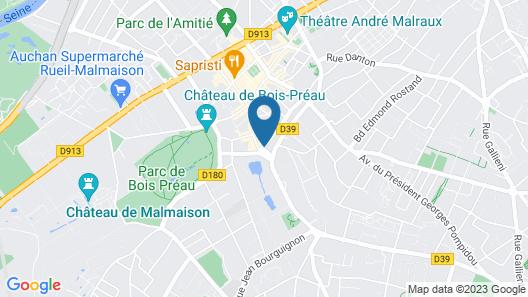 The Originals City, Le Cardinal Rueil Centre Map