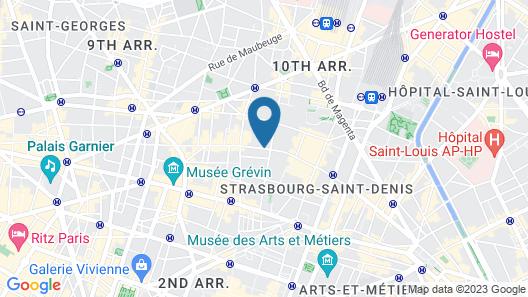 Hotel Paradis Map