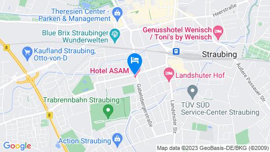 Hotel ASAM Map