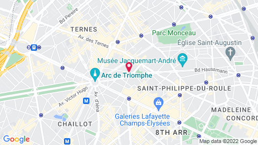 Sofitel Paris Arc de Triomphe Map